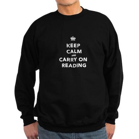 Keep Calm and Carry On Sweatshirt (dark)