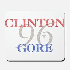 Clinton Gore 1996 Mousepad