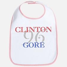 Clinton Gore 1996 Bib