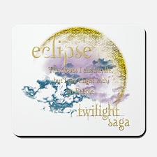Jacob Quote Eclipse Clouds Mousepad