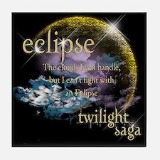 Jacob Quote Eclipse Clouds Tile Coaster
