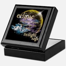 Jacob Quote Eclipse Clouds Keepsake Box