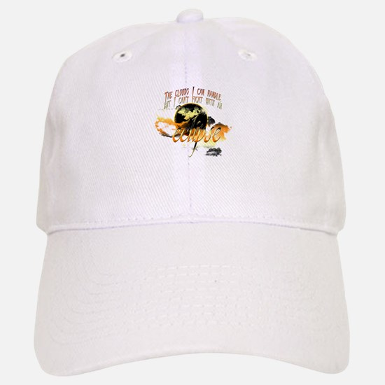 Jacob Quote Eclipse Clouds Baseball Baseball Cap