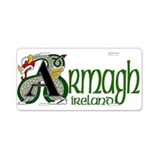 County Armagh Aluminum License Plate