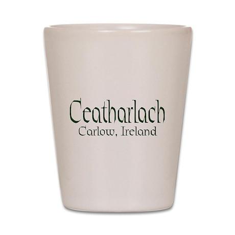 County Carlow (Gaelic) Shot Glass
