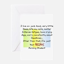 Nursing Student IV 2011 Greeting Card