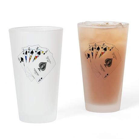 Original Royal Flush Pint Glass