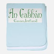 Cavan (Gaelic) baby blanket