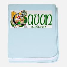 County Cavan baby blanket