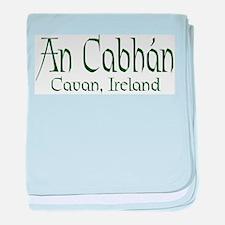 County Cavan (Gaelic) baby blanket