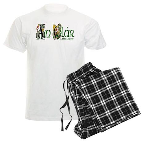 County Clare (Gaelic) Men's Light Pajamas