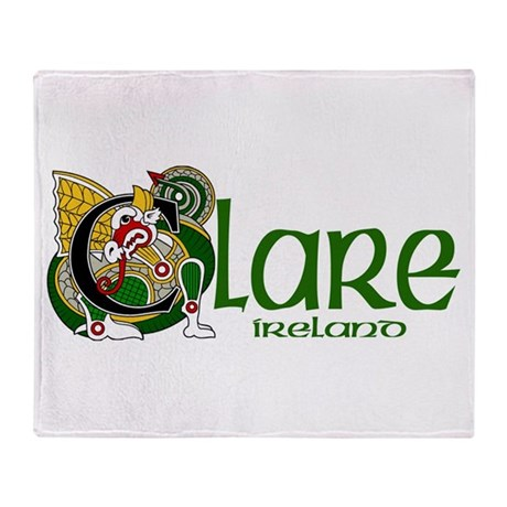 County Clare Throw Blanket