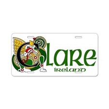 County Clare Aluminum License Plate