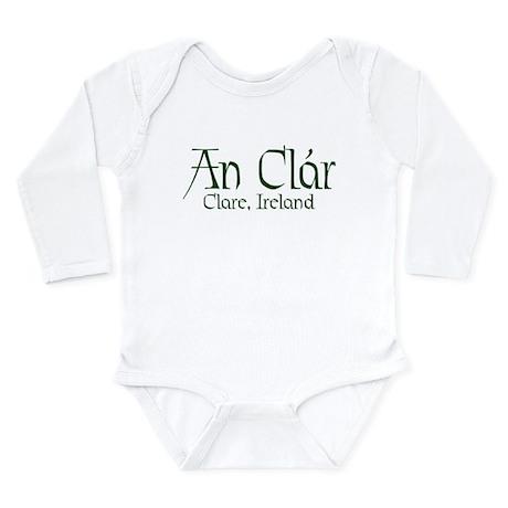 County Clare (Gaelic) Long Sleeve Infant Bodysuit