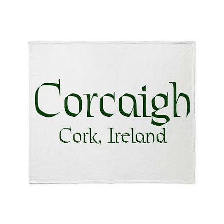 County Cork (Gaelic) Throw Blanket