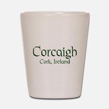 County Cork (Gaelic) Shot Glass