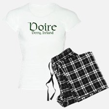 County Derry (Gaelic) Pajamas