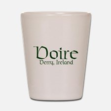County Derry (Gaelic) Shot Glass