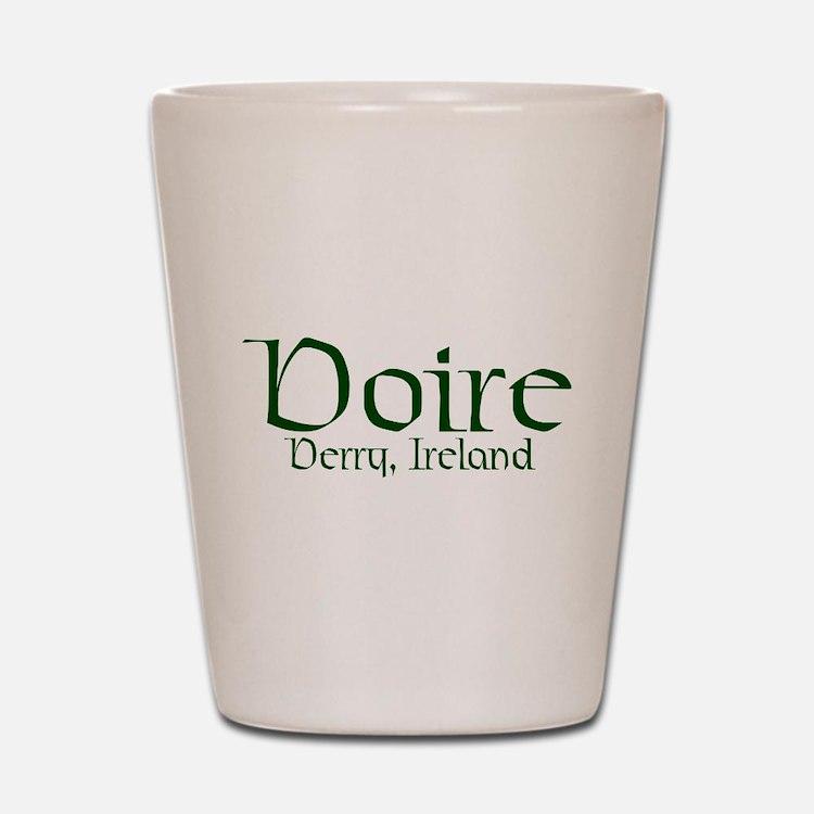 County Derry (Gaelic) Shot Glass