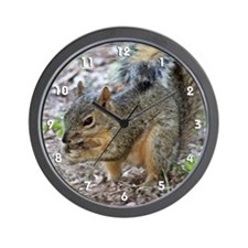Another Munching Squirrel Wall Clock
