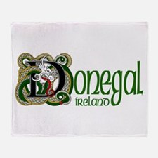 County Donegal Throw Blanket