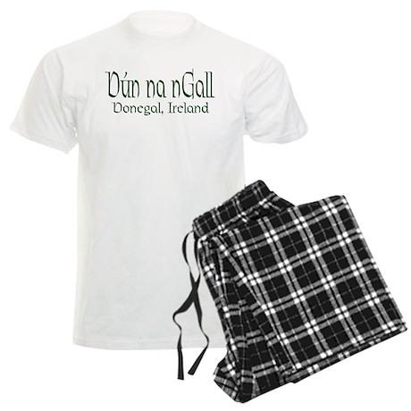 County Donegal (Gaelic) Men's Light Pajamas