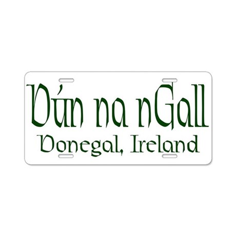 County Donegal (Gaelic) Aluminum License Plate