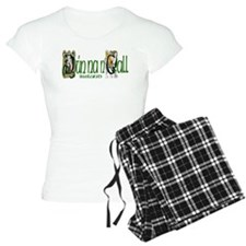 Donegal Dragon (Gaelic) Pajamas