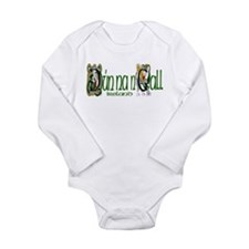 Donegal Dragon (Gaelic) Long Sleeve Infant Bodysui