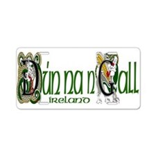 Donegal Dragon (Gaelic) Aluminum License Plate