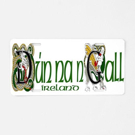 Donegal Dragon (Gaelic) Aluminum License Plate