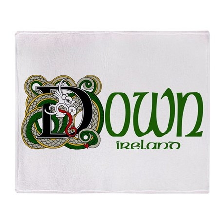 County Down Throw Blanket