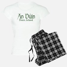 County Down (Gaelic) pajamas