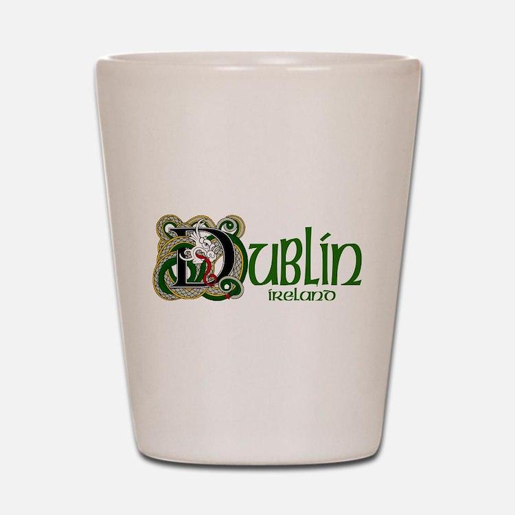Dublin, Ireland Shot Glass