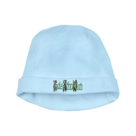 Dublin Dragon (Gaelic) baby hat