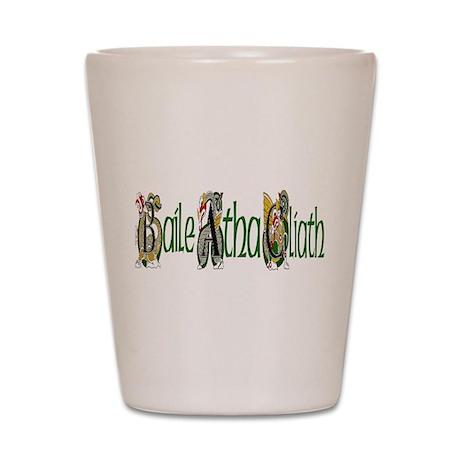 Dublin Dragon (Gaelic) Shot Glass