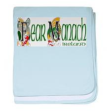 Fermanagh Dragon (Gaelic) baby blanket