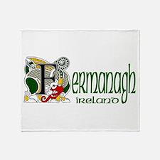 County Fermanagh Throw Blanket