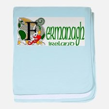 County Fermanagh baby blanket