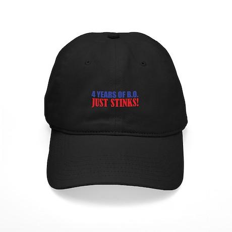 Obama Stinks Black Cap