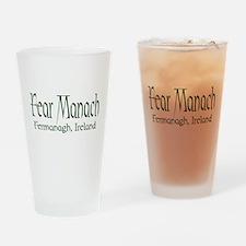 Fermanagh (Gaelic) Pint Glass