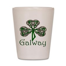Galway Shamrock Shot Glass