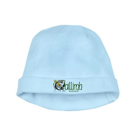 Galway Dragon (Gaelic) baby hat