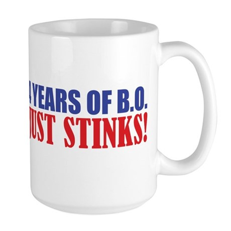 Obama Stinks Large Mug