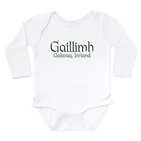 County Galway (Gaelic) Long Sleeve Infant Bodysuit
