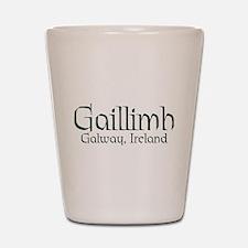 County Galway (Gaelic) Shot Glass