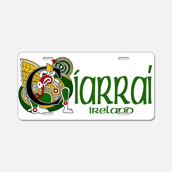 Kerry Dragon (Gaelic) Aluminum License Plate