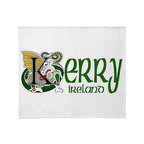 Kerry Celtic Dragon Throw Blanket