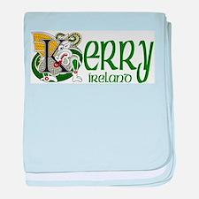 Kerry Celtic Dragon baby blanket