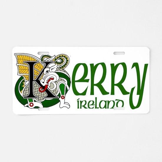 Kerry Celtic Dragon Aluminum License Plate